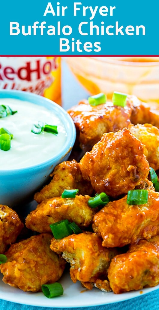 Photo of Air Fryer Buffalo Chicken Bites – Skinny Southern Recipes