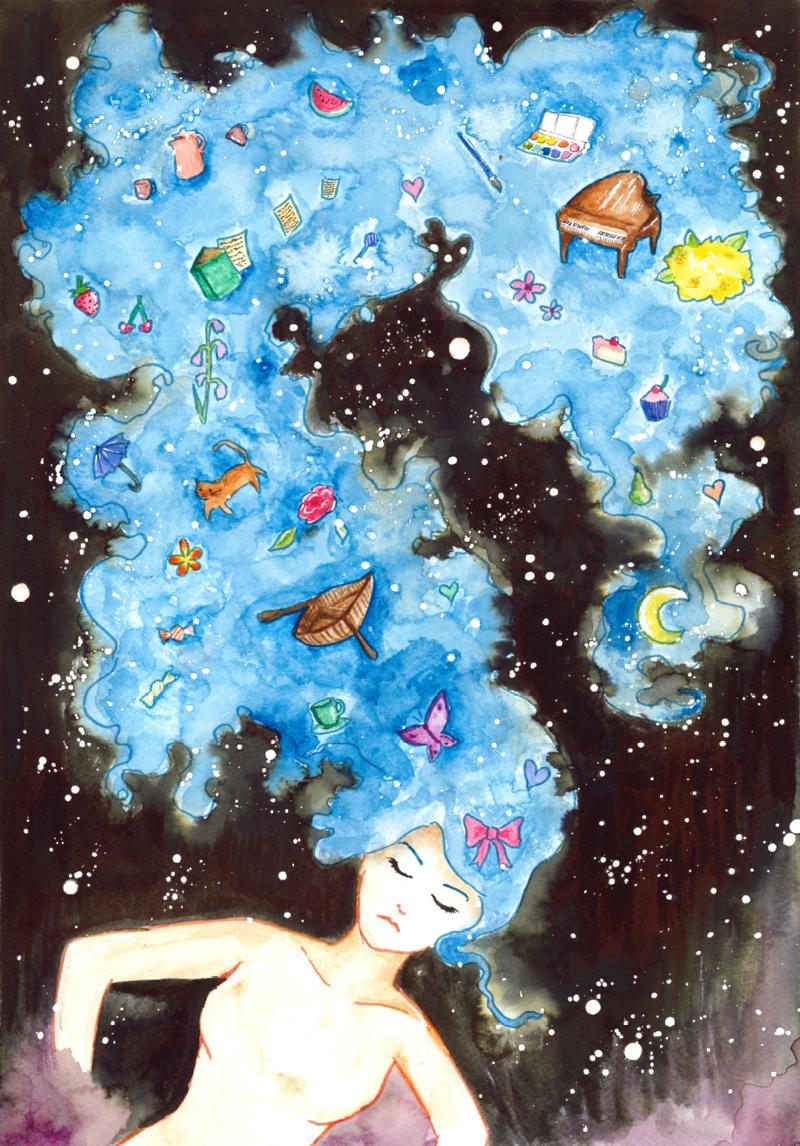 In My Head by opperator-porcelina.deviantart.com on @deviantART