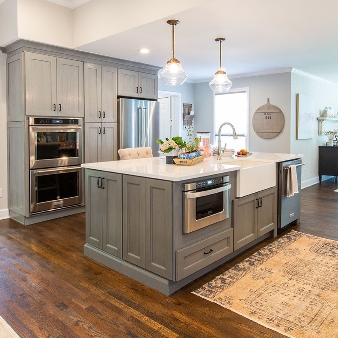 "Best Forevermark Cabinetry On Instagram ""Our Midtown Grey And 640 x 480"