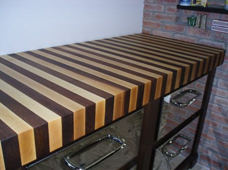 End Grain Butcher Block Countertops Wood Countertops Walnut