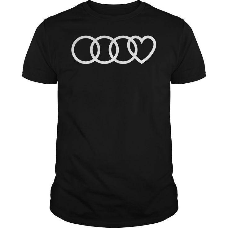 Audi Heart Logo Shirt, Hoodie, Sweater, Longsleeve T-shirt Audi Heart Logo Shirt, Hoodie, Sweater,