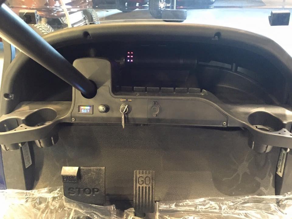 Our Bluetooth Mudhsb B Sound Bar Mounted In The Dash Of A Golf Cart Golfcartaudio Mtxaudio Speaker Mounts Integrated Amplifier Sound Bar Mount