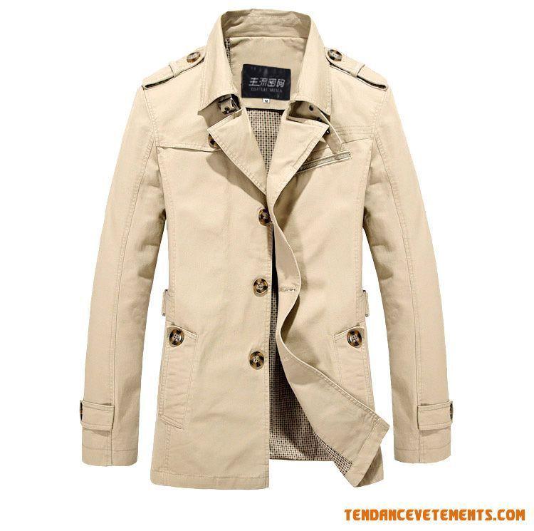 Manteau homme classe pas cher