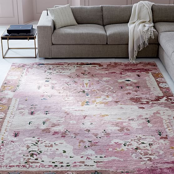 Persian Style Rug Pink Products Rugs