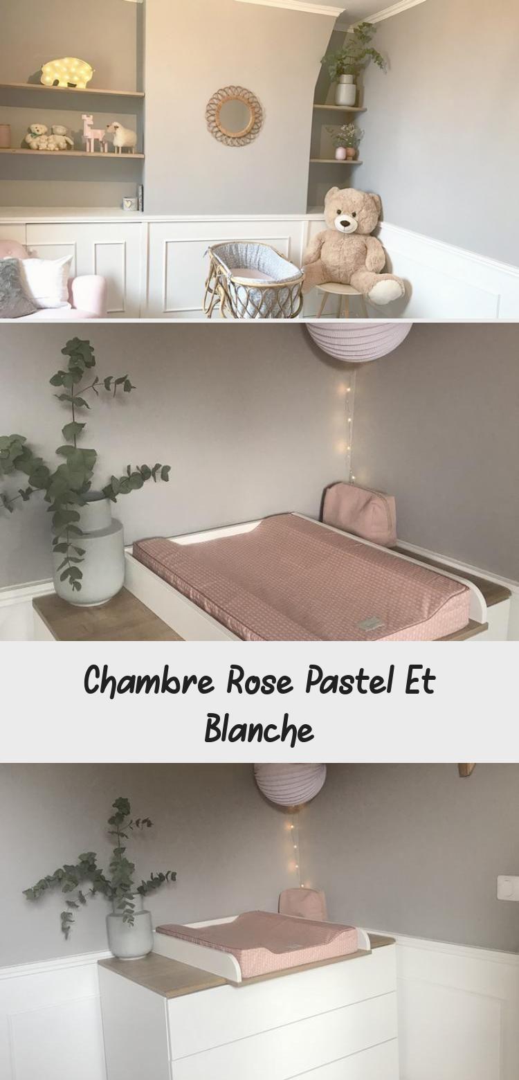 Chambre Rose Pastel Et Blanche Decoration Corner Bookcase Home Decor Bookcase