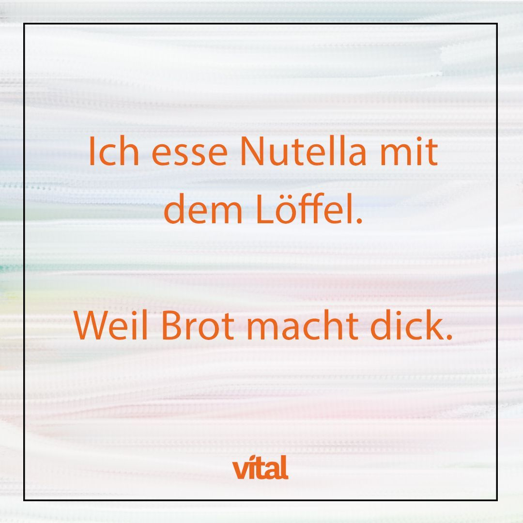 Nutella Spruch Funny Quotes Quotes Sayings