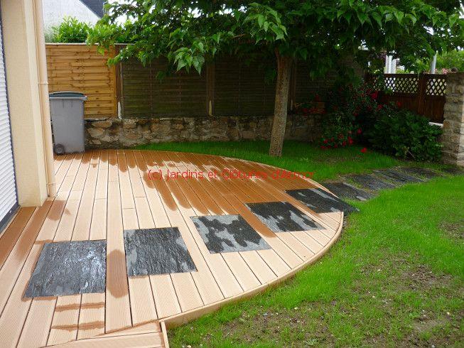 Terrasses En Materiaux Mixtes Terrasse Bois Composite Terrasse Bois Terrasse