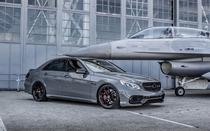 Mercedes Amg E43 2017 Cars Tuning Plane Gray Mercedes