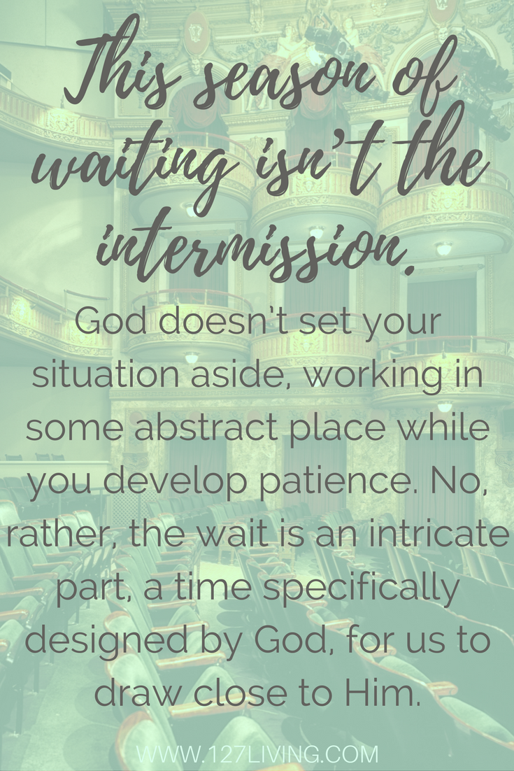 Being patient with god