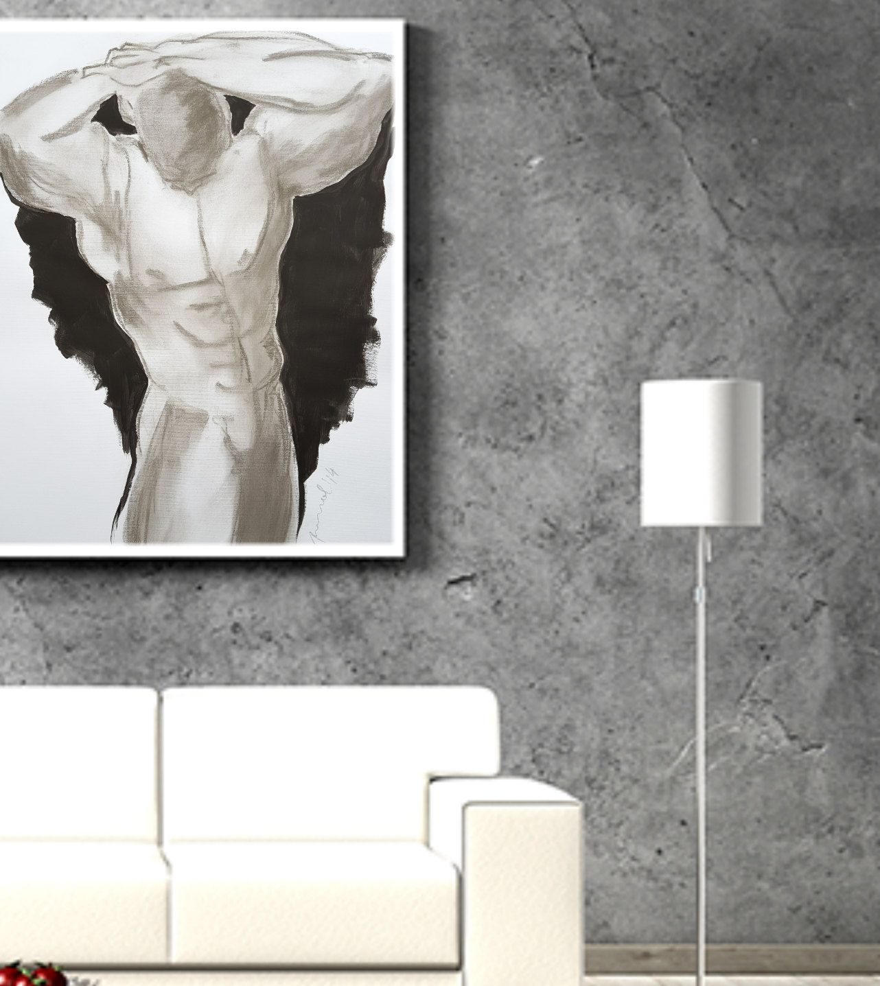 Acrylic paintinglarge paintinglarge modern wall artgiclée print