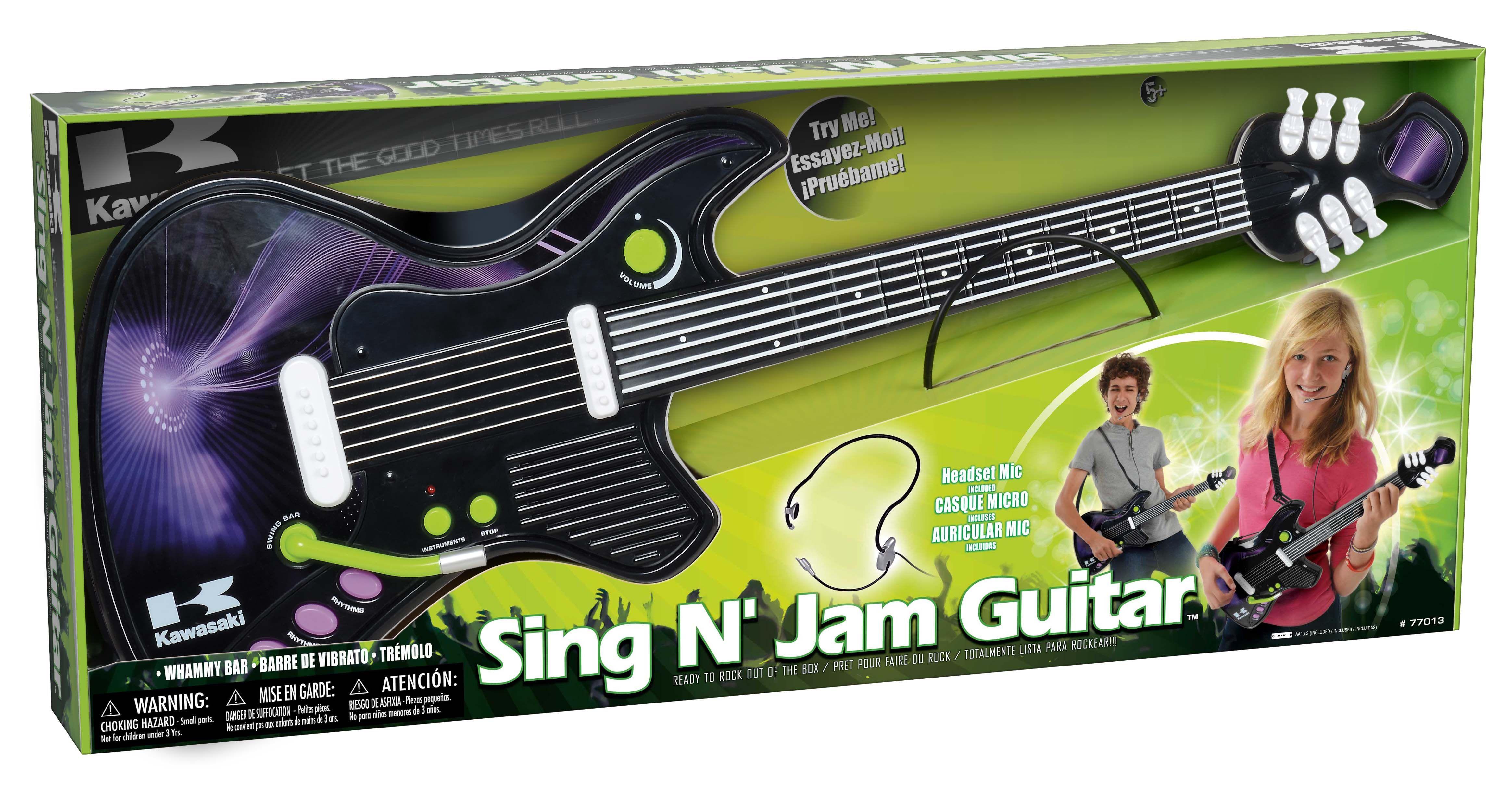 Sing N Jam Guitar Kawasaki Guitars Pinterest Guitar And Singing