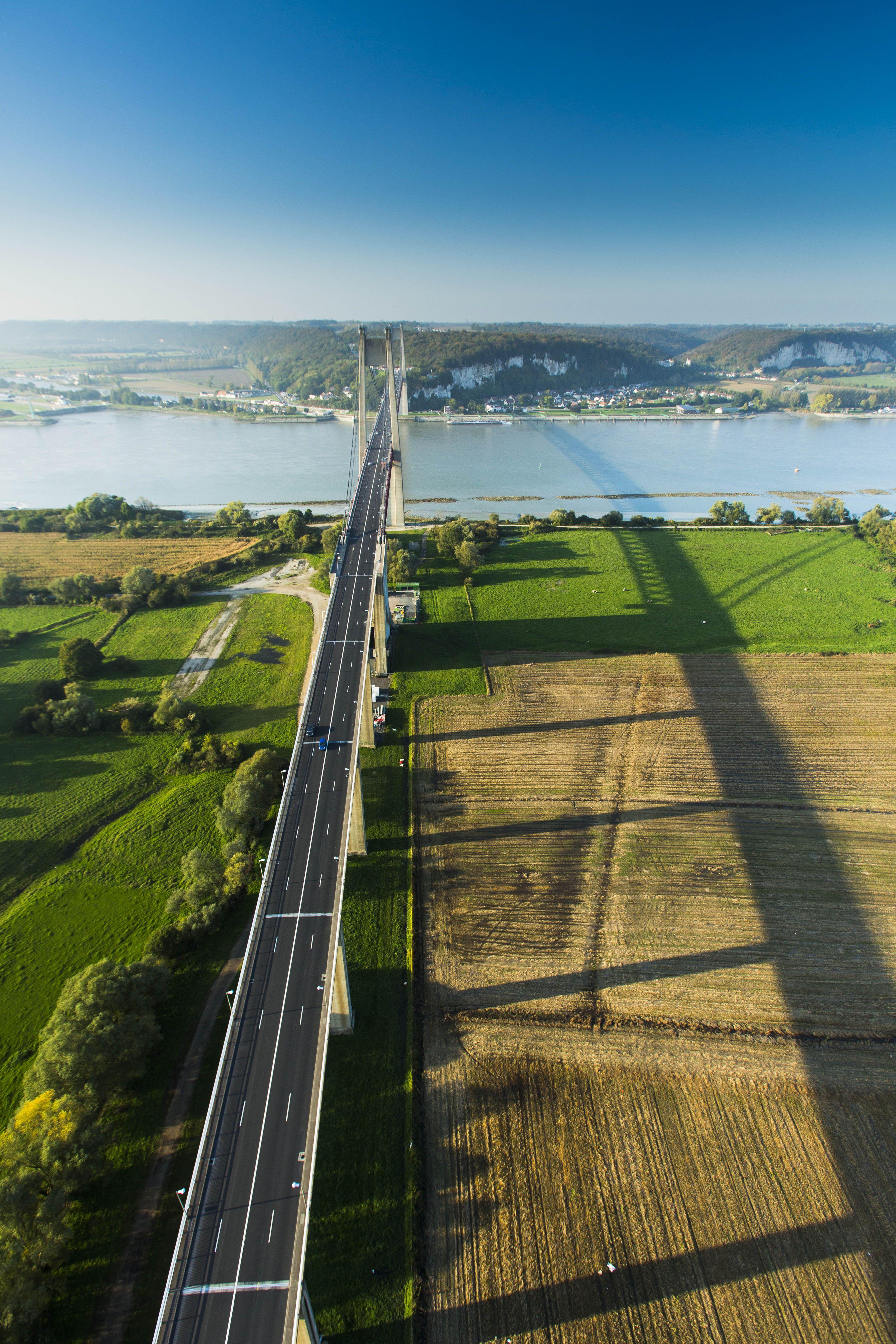 Vallée de Seine - pont de Tancarville ©SMT-V.Rustuel