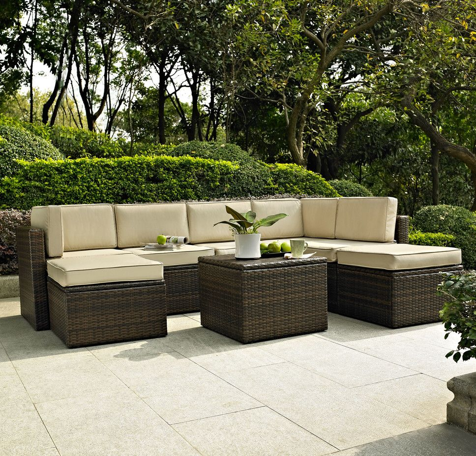 Queenstown 8 Piece Seating Group with Cushion | Dream Patio\'s ...