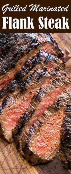Grilled Marinated Flank Steak | SimplyRecipes.com