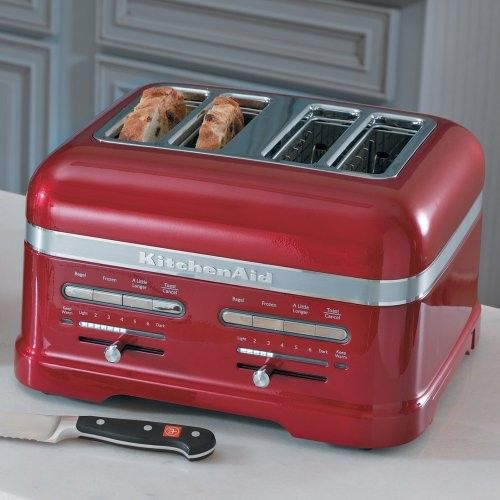 Best Kitchenaid Kmt4203Ca Candy Apple Red 4 Slice Pro Line 400 x 300