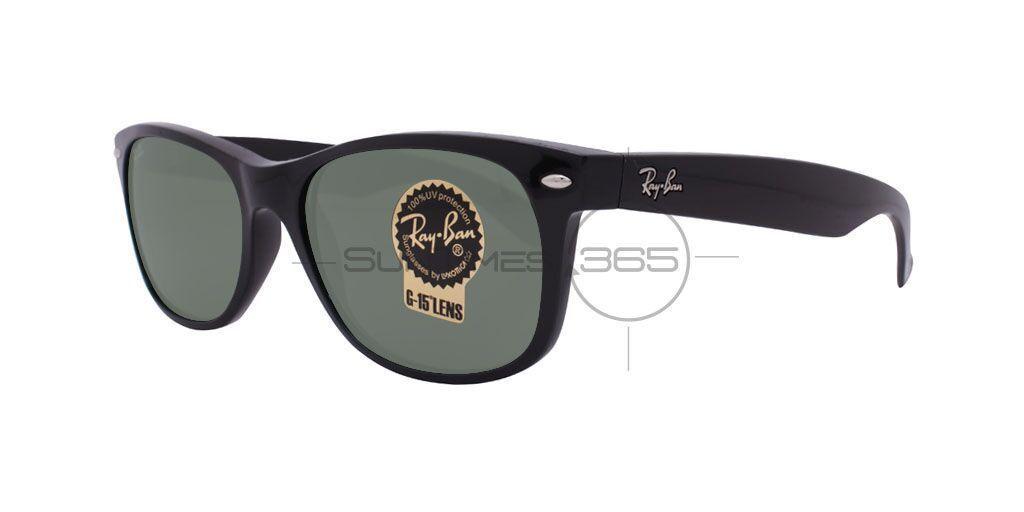 RAY-BAN RB2132 901L 55 Black / Crystal Green Eqqwyi8wi