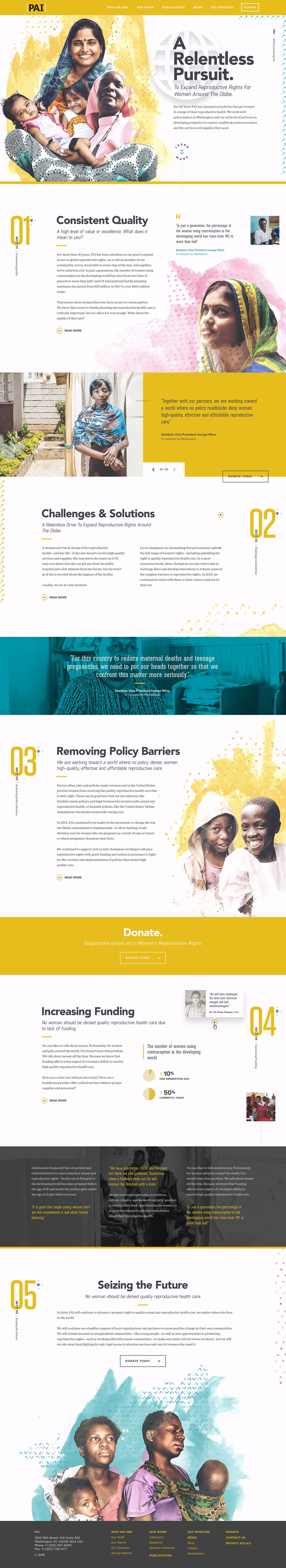 Pai Annualreport 2015 Jpg By Forefathers Layout Design Web Design Nonprofit Design