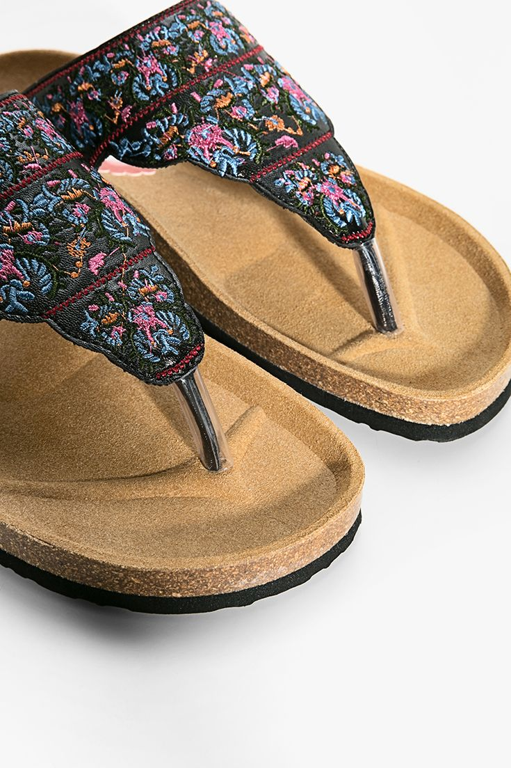 Shape Desigual Strap Ergonomic And An Flops Toe Flip With wqFxvwf