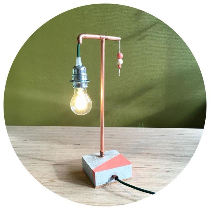 Création Luminaires Lampe Poser CorailTriple Lou À O nwm0yv8NO