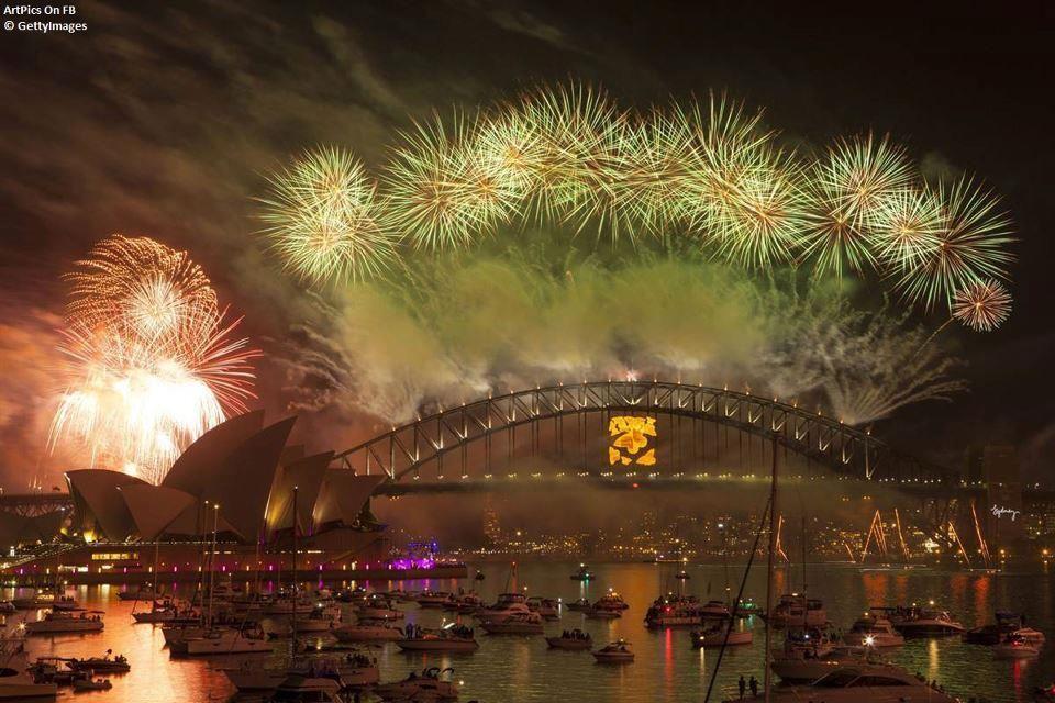 Sydney New year's eve around the world, New years eve