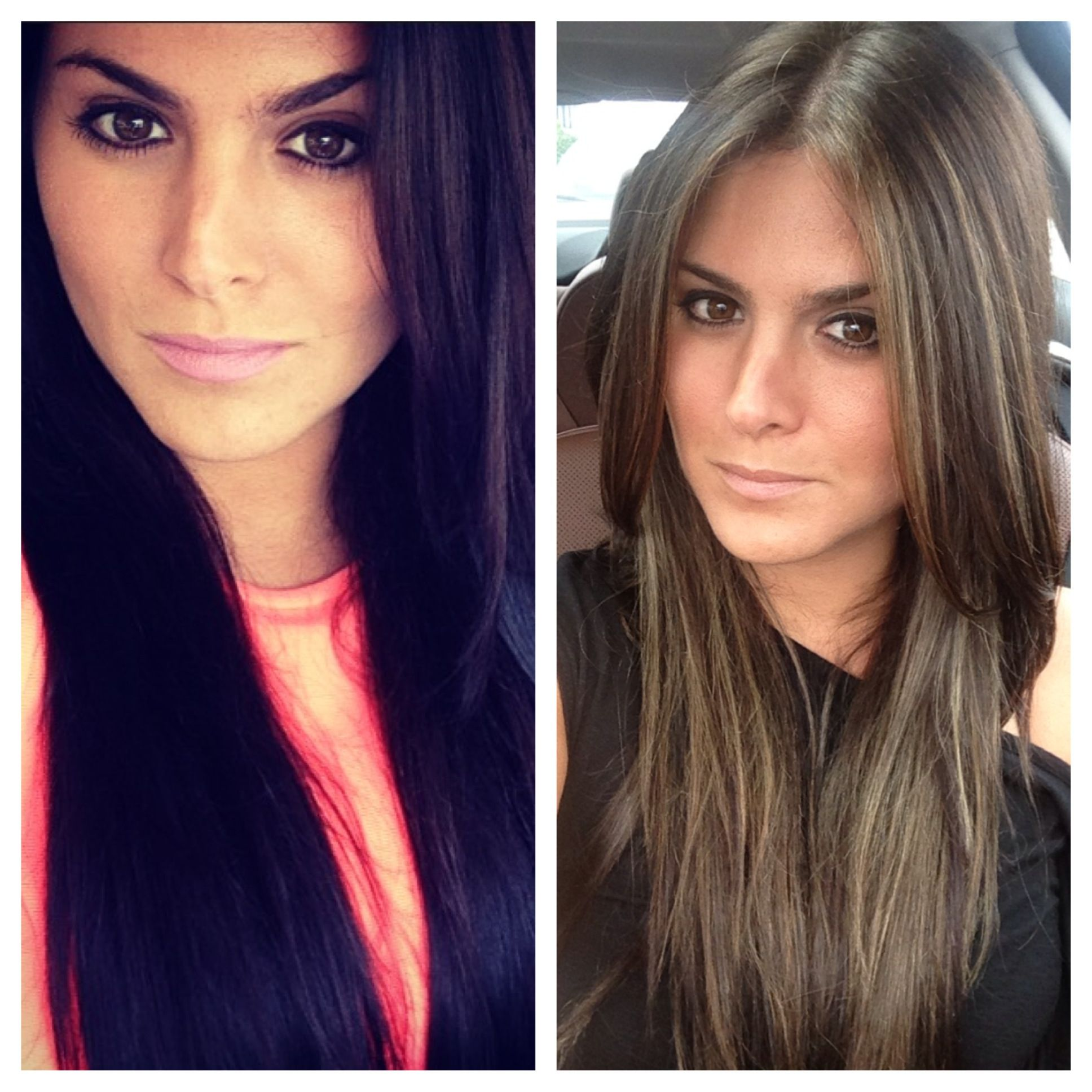 Dark To Light Hair Transformation Yes I Did These Dark To Light Hair Lightening Dark Hair