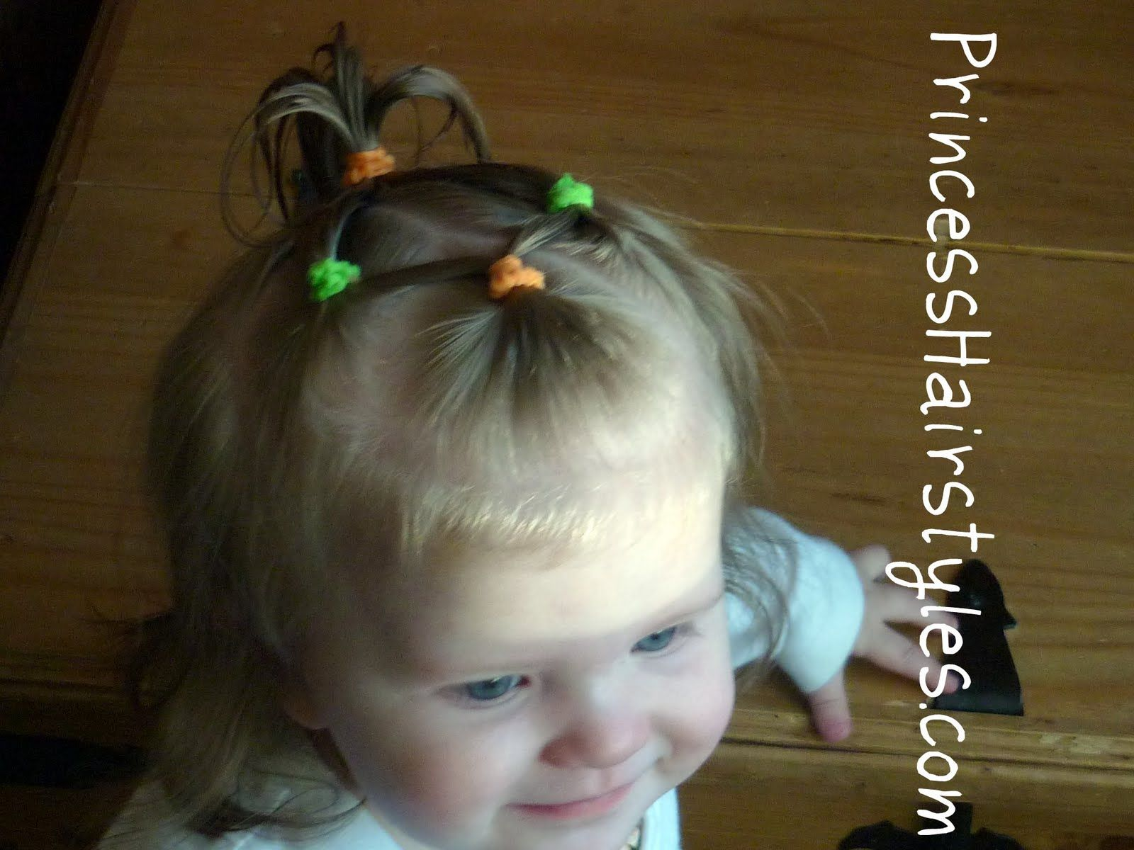 Baby hairstyles connecting ponytails peinados pinterest