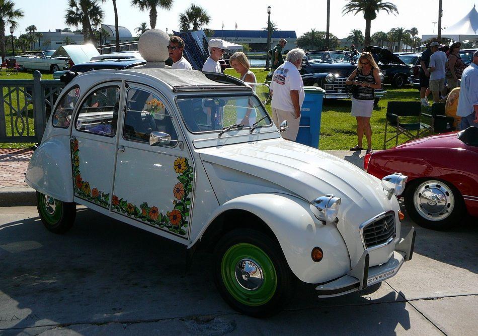 Vintage Citroen 2CV. Art of the Automobile car show in Daytona Beach, 5/5/2012. Photo by Luis — The Motor Bookstore.