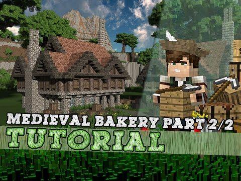 Minecraft Tutorial Large Medieval Bakery Part YouTube The - Minecraft spielen youtube