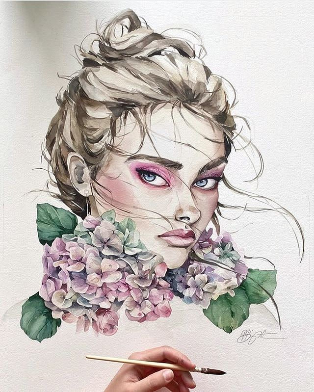 "beautifulpaintings (@paintings.ali) Instagram hesabına bir fotoğraf ekledi: ""‏#Watercolor_art#watercolor_daily#watercolor_guide#watercolor_blog#watercolor_gallery#watercoloring#watercolorart#watercolorsketch#watercolorartist#watercolorvideo#watercolorist#watercolorlettering#watercolorgalaxy#watercolorflowers#watercolorplanet#watercolorfloral#watercolorpencils#watercolorpractice#watercolorbeginners#watercolorchalenge#watercolor…"""
