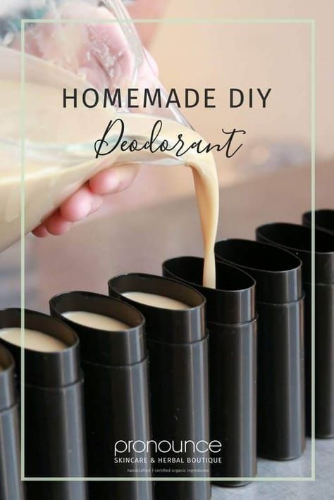 Homemade DIY Deodorant Recipe (secret ingredient, NO irritating baking soda, EFFECTIVE recipe)! • pronounceskincare.com
