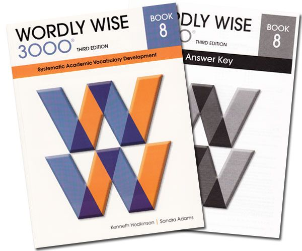 Wordly wise 3000 book 8 answer key 4th edition vocabulary for teaches multiple definitions of words includes consumable workbook and non consumable answer key for wordly wise 3000 fandeluxe Image collections