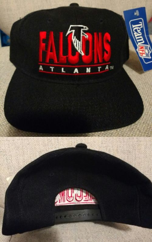 Hats and Headwear 159057  Vintage Atlanta Falcons Youngan Brand Snapback  Hat Brand New -  3473528281e