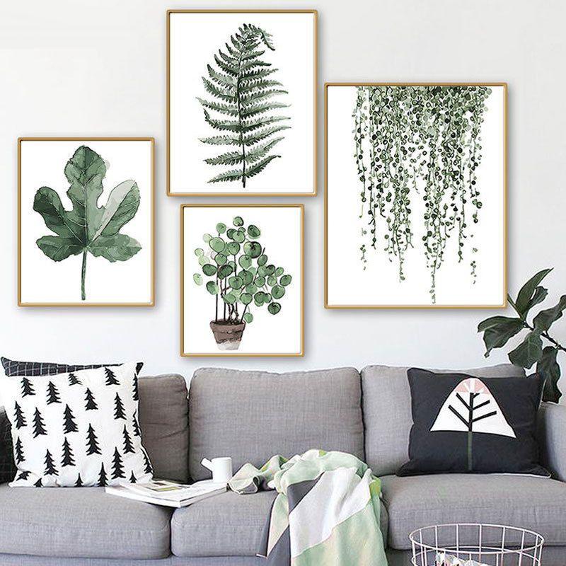 FRAMES Succulent Plant Wall Art Print Poster Modern Minimalist Home Decor A3//A4