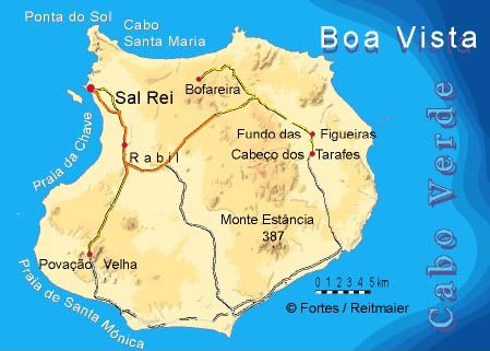 Boa Vista Portuguese Meaning Good View Is The Easternmost