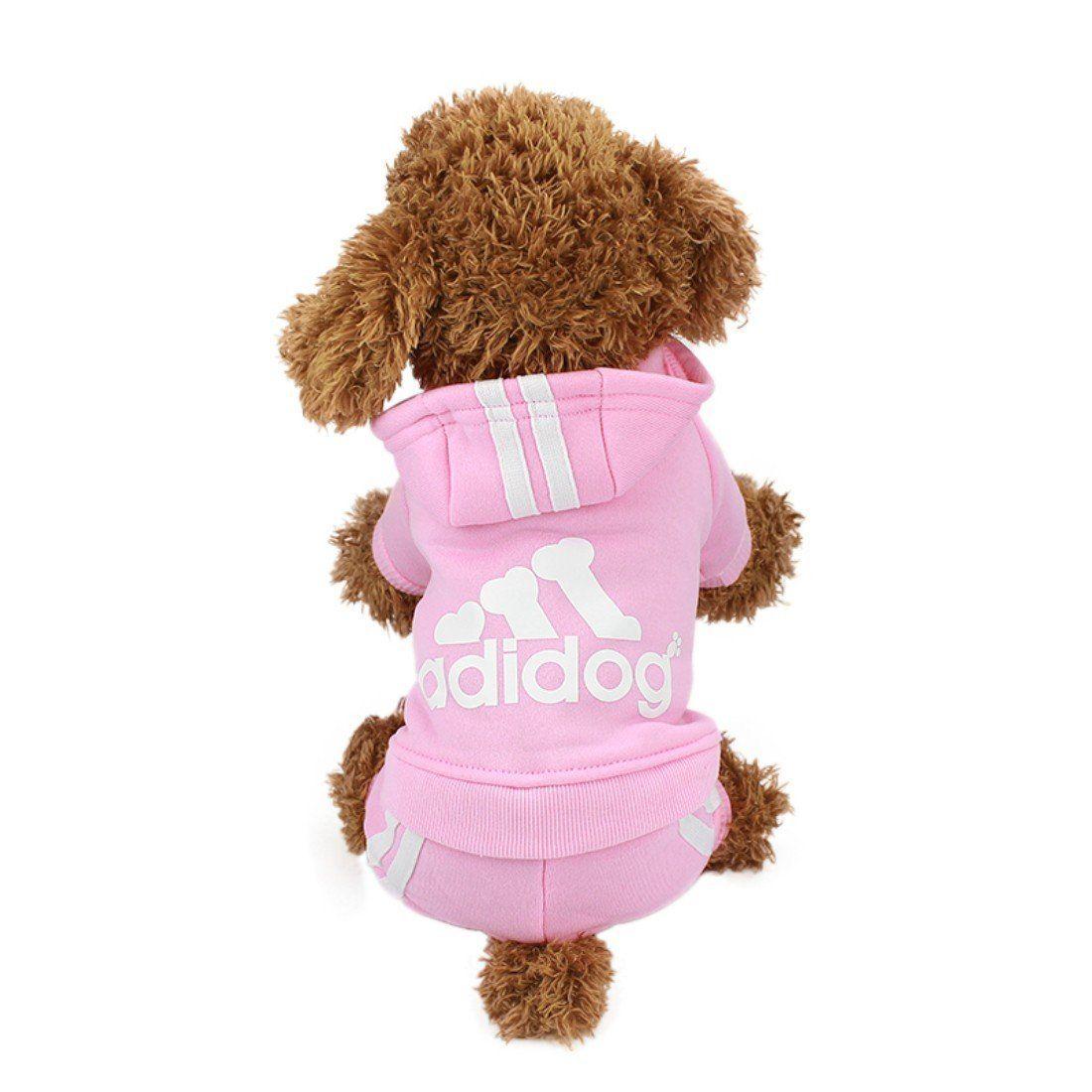 Idepet(TM) Adidog Pet Dog Cat Clothes 4 Legs Cotton Puppy