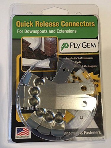 Lrx Downspout Quick Release Connectors Check This Awesome Product By Going To The Link At The Image Downspout Quick Release Ply Gem
