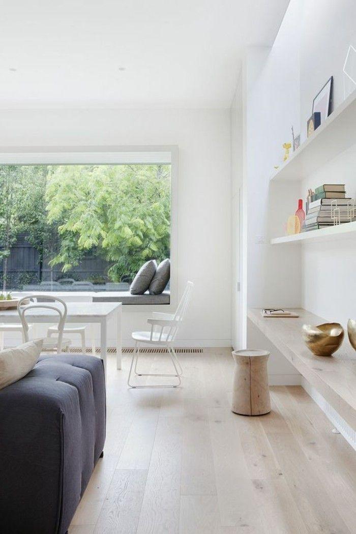 Sitzecke Wohnzimmer Fensterbank