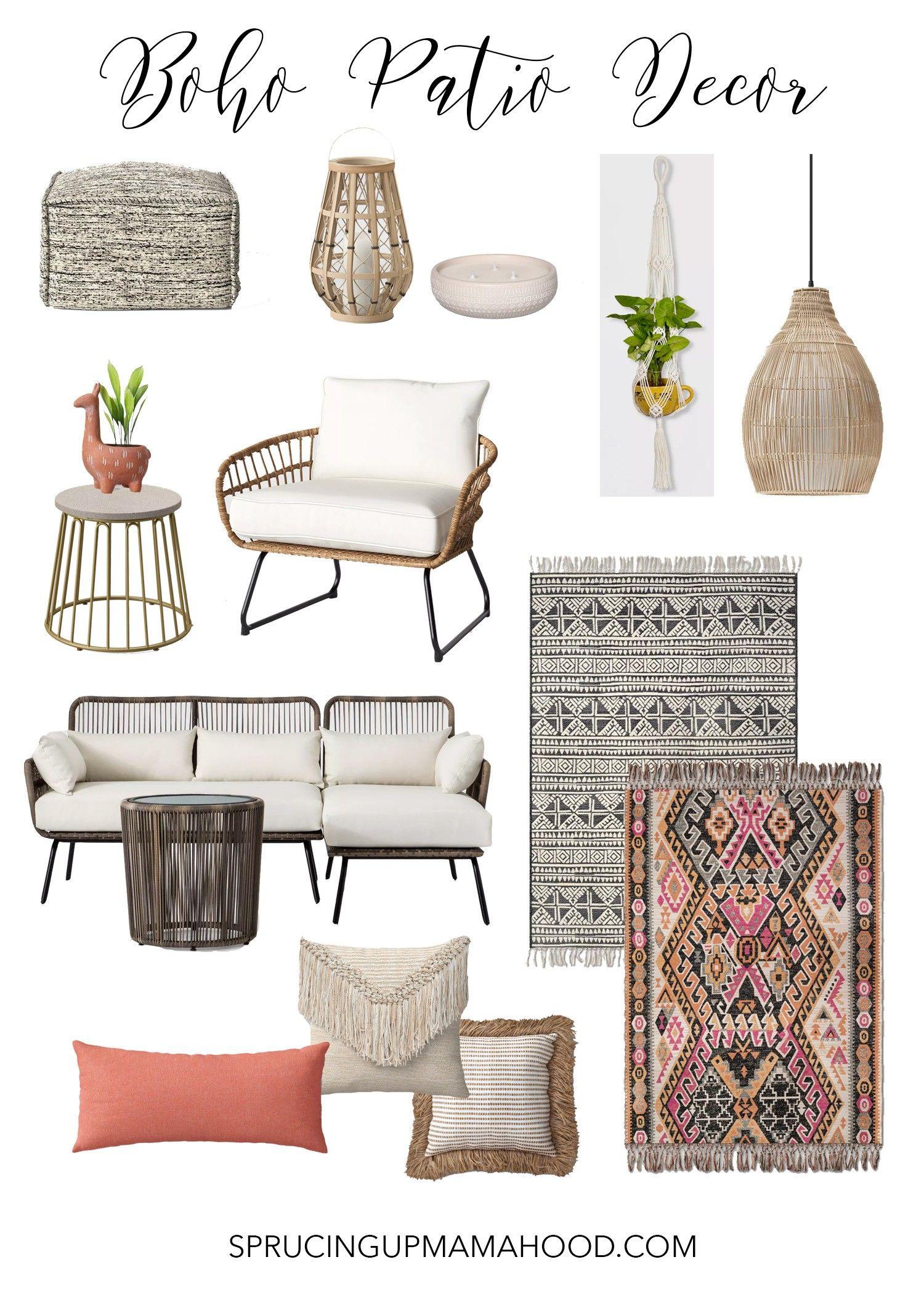 boho patio backyard furniture