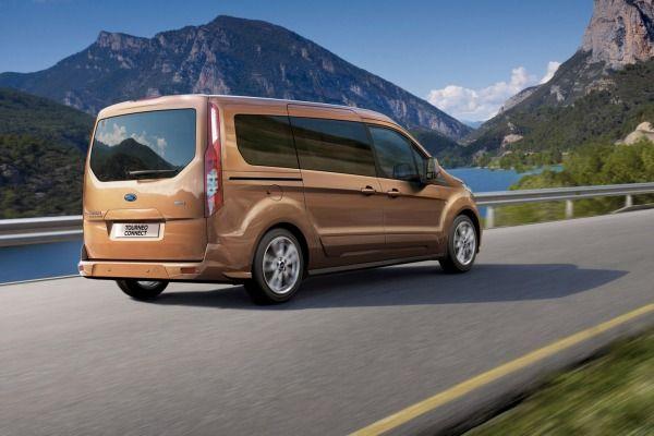 Ford Transit Connect Minivan Rear