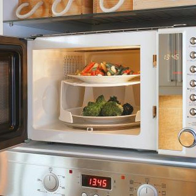 How to get smell out of microwave oven