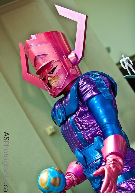 Galactus and The Silver Surfer at Comic-Con SDCC 2012 by andreas_schneider, via Flickr