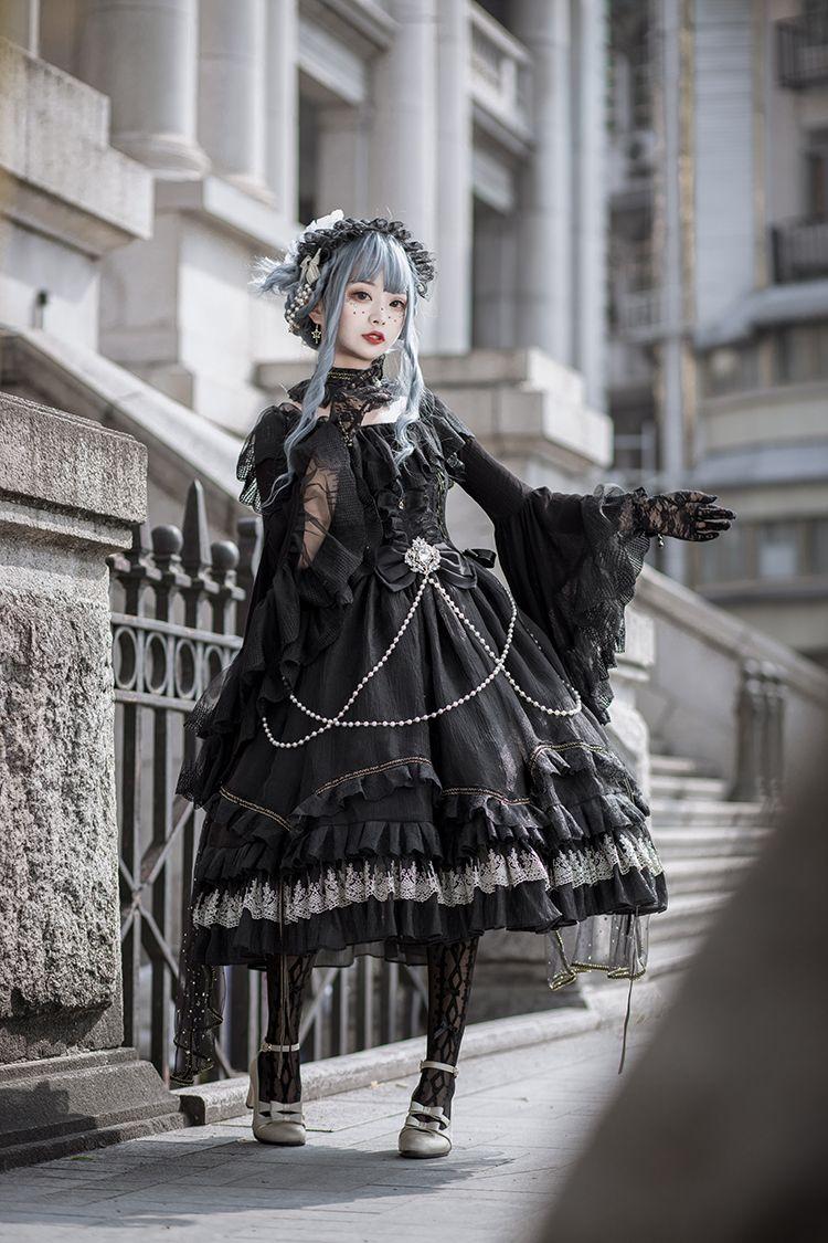 New Arrival:【-Fate Quartet -】Sweet Gothic Lolita JSK