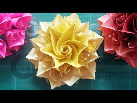 Diy Handmade Crafts How To Make Amazing Paper Rose Origami