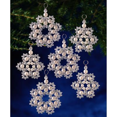 Image result for beading christmas decorations