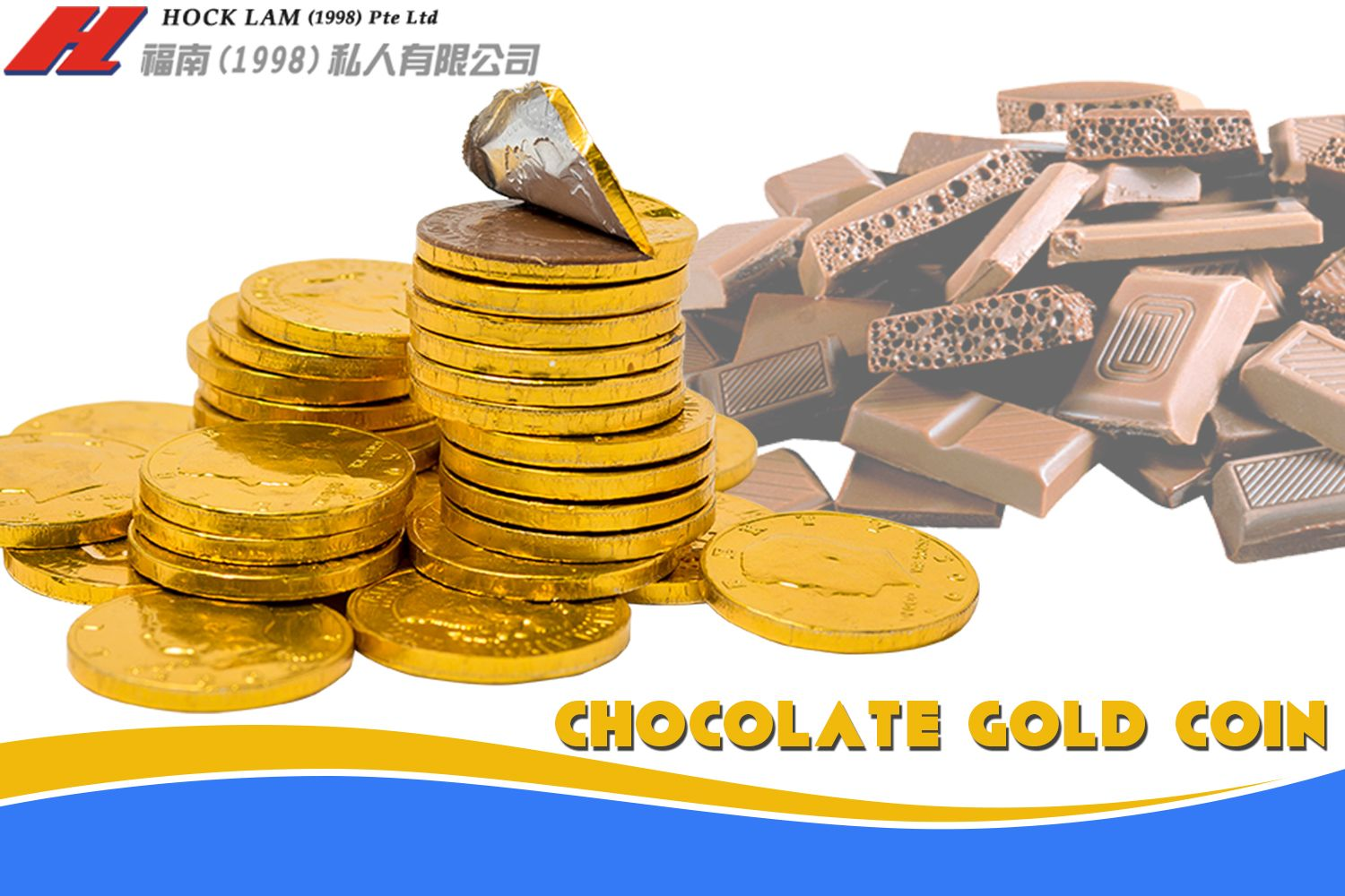 Grab Tasty And Chocolaty Gold Coins From Hocklam Have A