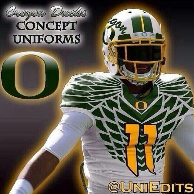 4038a2b597d Uniform concept | Oregon Ducks Football | Oregon ducks football ...