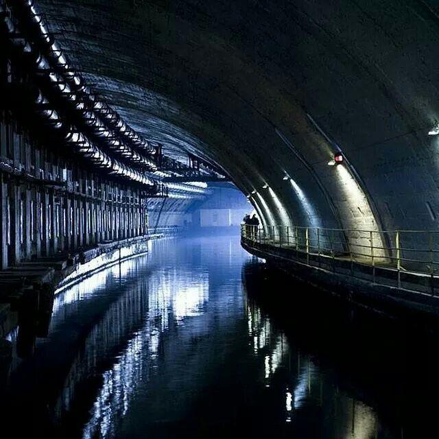 Abandoned Submarine Base Sottomarini Pinterest Abandoned - 24 mysterious haunting abandoned buildings soviet union