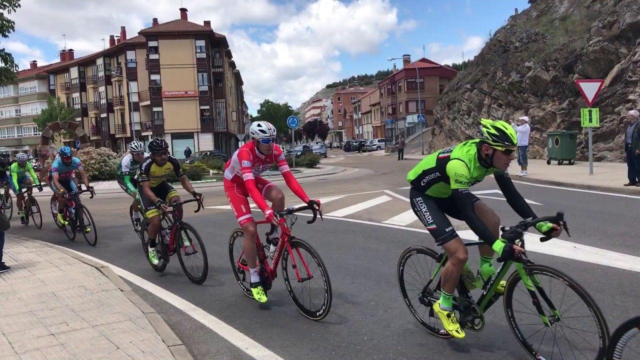 SALIDA DE LA XXXII Vuelta Ciclista Castilla y León