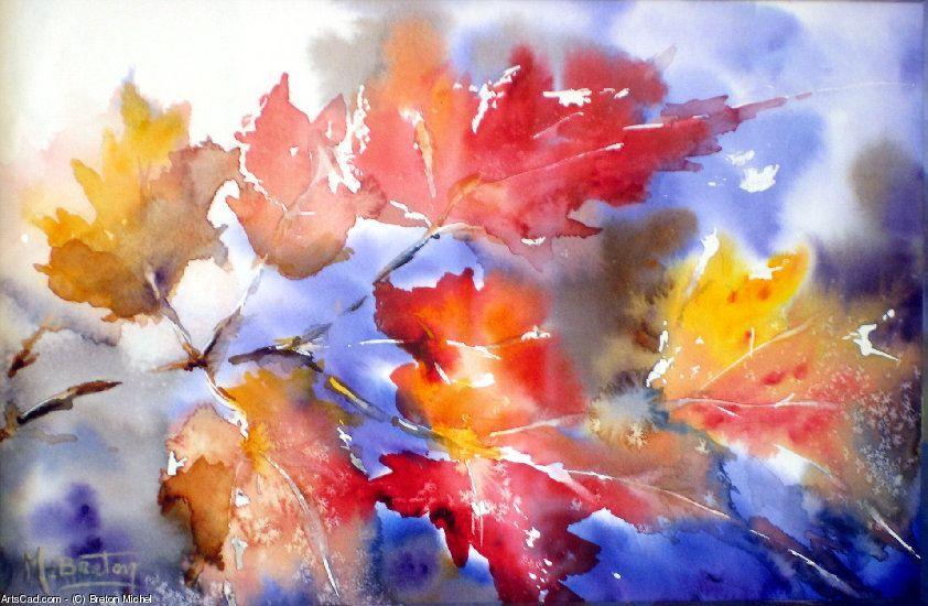 Artwork >> Breton Michel >> autumn leaves