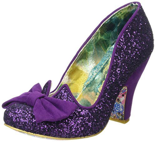 bdc2628e004d Irregular Choice Women's Nick of Time Closed-Toe Pumps, Purple - Also in  Black multi. I get a commission for purchases made through the link in this  pin.